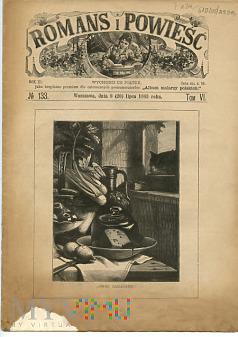 Duże zdjęcie Romans i Powieść - Nr 133, 8 lipca 1883 roku