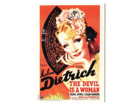 Marlene Dietrich Diabeł jest Kobietą papieros