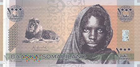 Somalia (Somaliland) - 1 000 szylingów (2006)