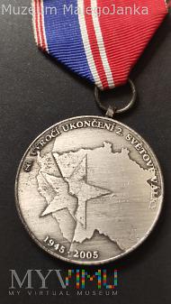 Czeski medal 60 Rocznica Zakończenia II WS