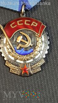 CCCP Order Czerwonego Sztandaru Pracy Nr: 606400
