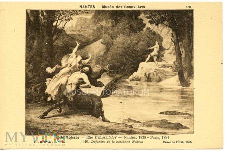 Duże zdjęcie Elie Delaunay - Dejanire i centaur Nessos