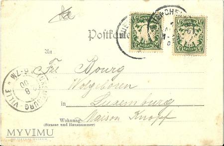Pozdrowienia z Monachium - 1900