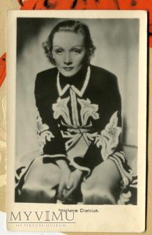 Marlene Dietrich Łotwa Pocztówka Latvia Postcard