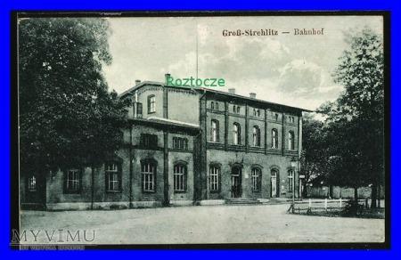 STRZELCE OPOLSKIE GorssStrehlitz Dworzec kolejowy