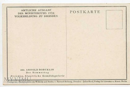 A. Bocklin - Letni czas