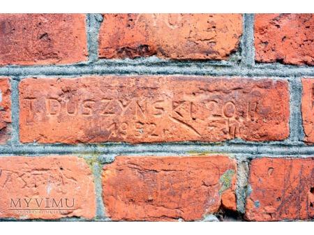 """""""Stara Prochownia"""" - budynek B - inskrypcja #003"""