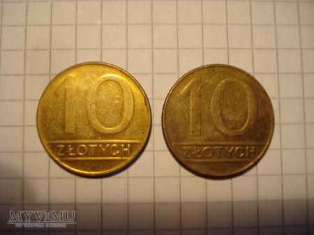 10 zł - obiegowe PRL