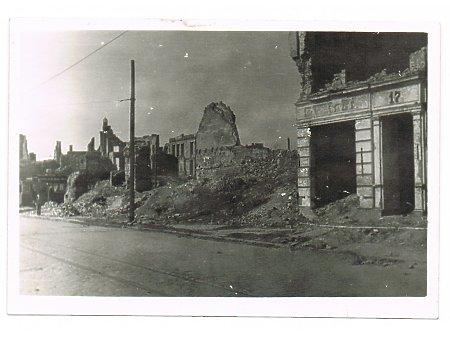 Elbląg- zniszczone Stare Miasto (2)