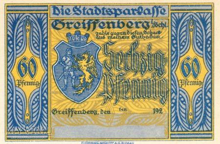 Notgeld Greiffenberg in Schlesien 60 Pf.