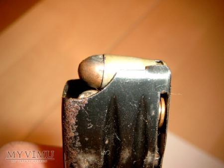 Magazynek pistoletu maszynowego PM 63.