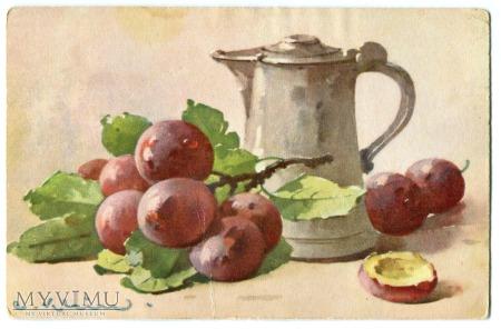 Catharina C. Klein martwa natura owoce