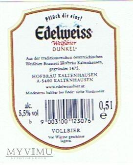 edelweiss dunkel weißbier