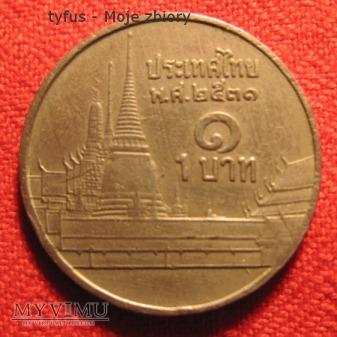 1 BAHT - Tajlandia (1987 - ๒๕๓๐)