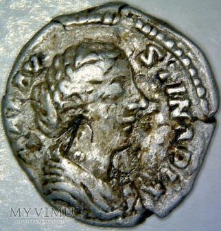 Denar, Marcus Aurelius 139-180 - Faustyna II,