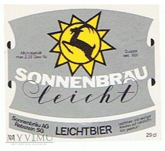 sonnenbräu - leicht