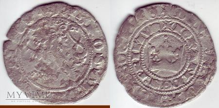 Grosz Praski Jan Luksemburski 1310-1346