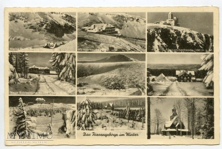 Karkonosze - Riesengebirge - Baude - 1943