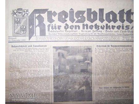 Gazeta z1943 r.
