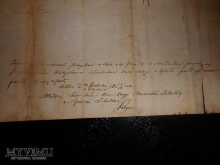 h.Rawicz-Dyplom Heroldya Królestwa Polskiego