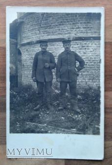 Żołnierze niemieccy I WŚ