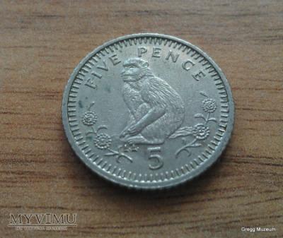 5 Pence - Gibraltar 1994
