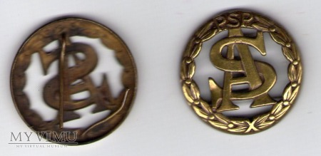 Odznaka kadetów Szkoły Aspiranów PSP