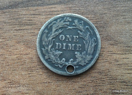 ONE DIME 1889