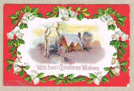 1911 r. Najlepsze życzenia Bożonarodzeniowe
