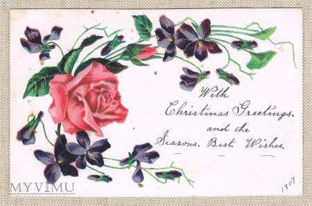 1907 Życzenia świąteczne