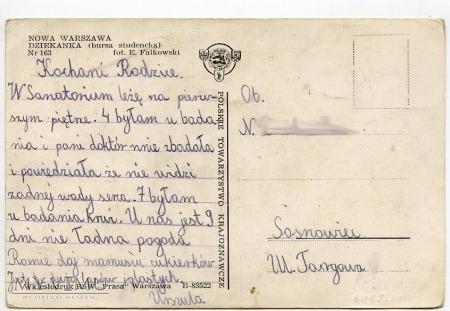 W-wa - Dziekanka - 1950