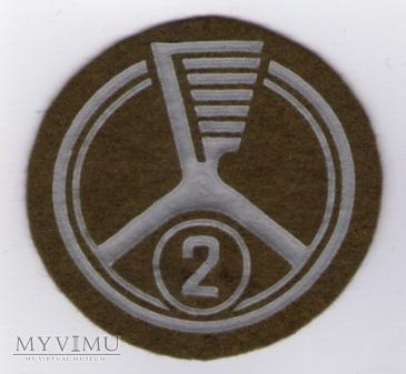 Oznaka specjalisty - kierowca samochodowy 2kl