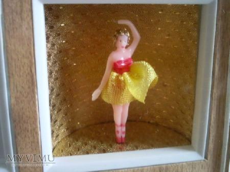 Budzik Blessing z pozytywką i baletnicą