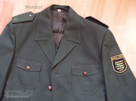 Polizei Sachsen - mundur służbowy