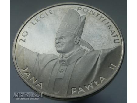 20 lecie Pontyfikatu Jana Pawła II.
