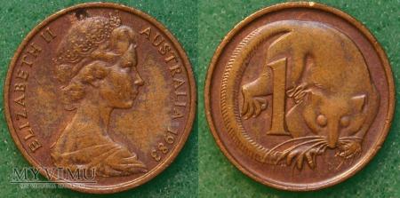 Australia, 1 cent 1983