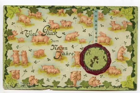 Świnka Noworoczna 1910