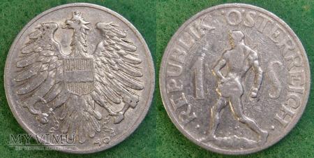 Austria, 1 schilling 1946