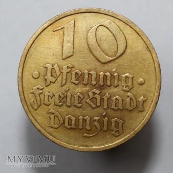 10 pfenigów 1932 WMG