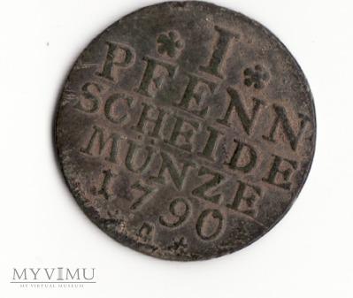 1 Pfennig 1790 A
