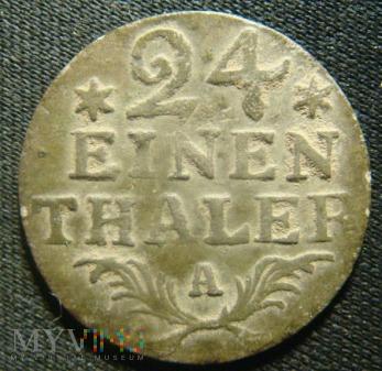 24 einen thaler, 1782, A