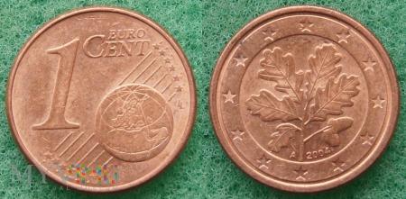 1 EURO CENT 2004 A