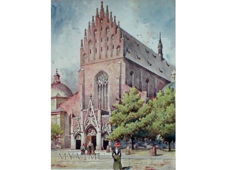Kościół OO. Dominikanów Kraków Stanisław Tondos