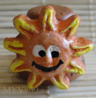 Duże zdjęcie Naparstek ze słoneczkiem