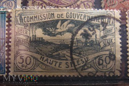 znaczki plebiscytowe na Śląsku
