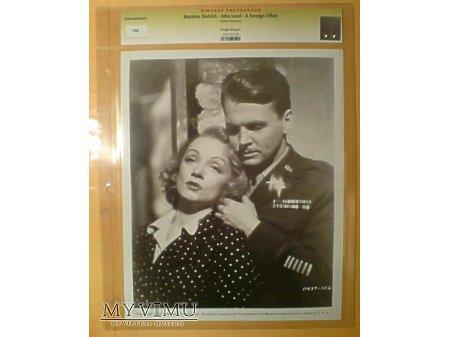 Duże zdjęcie Marlene Dietrich Foreign Affair 1948 FOTO kino