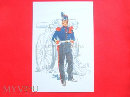 Duże zdjęcie Artyleria forteczna 1890