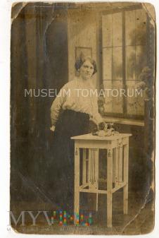 Stare zdjęcie jako dowód osobisty - 1916