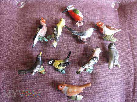 Ptaki porcelanowe - KWHW