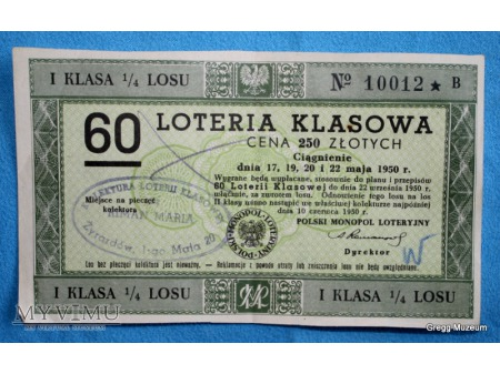 60 Loteria Klasowa